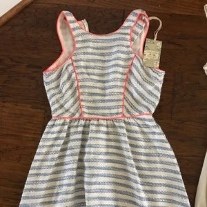 Chelsea and violet striped dress